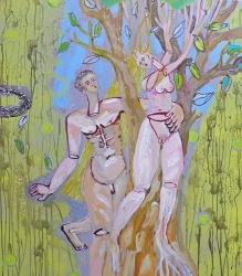 Linde UnreinDaphne und Apollo pompeijanisch