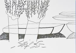 Linde UnreinAm Fluß II
