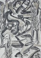 Linde Unrein -Figur-schafft-Landschaft II mi